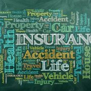 insurance words greenboard