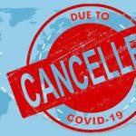 coronavirus travel cancel